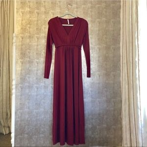 Rachel Pally Caftan Long Sleeve Maxi Dress